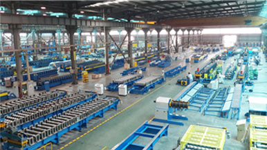 Roll Forming Machine Production Workshop