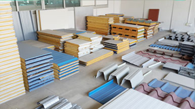 Roll Forming Machine Sample Room