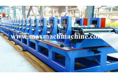 Acoustic panel post roll forming machine