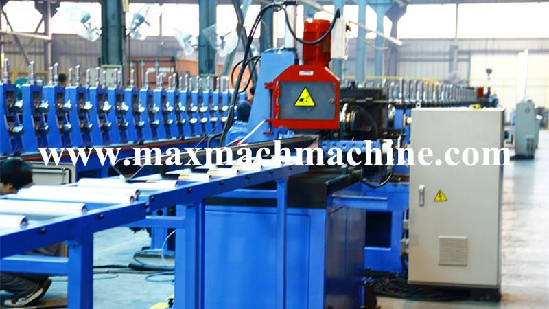 Steel keel roll forming machine