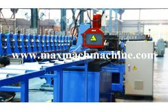 Steel keel roll forming machine