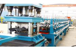 2 waves highway barrier roll forming machine