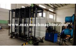 Grain silo plate roll forming machine