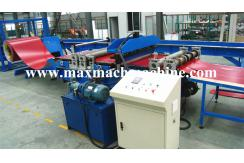 Simple film cutting and slitting machine